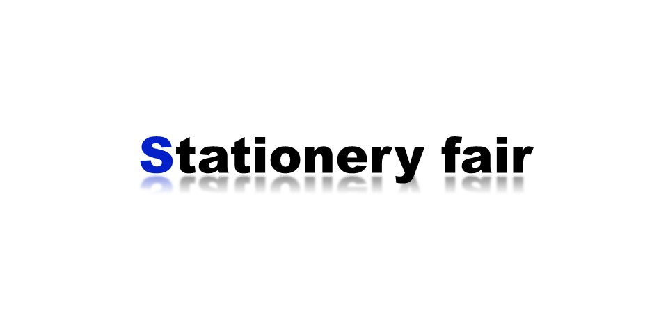 Stationery fair 開催中