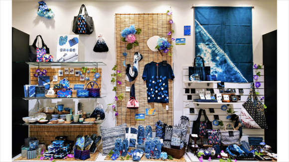 「藍染&夏色」フェア都庁店DP画像